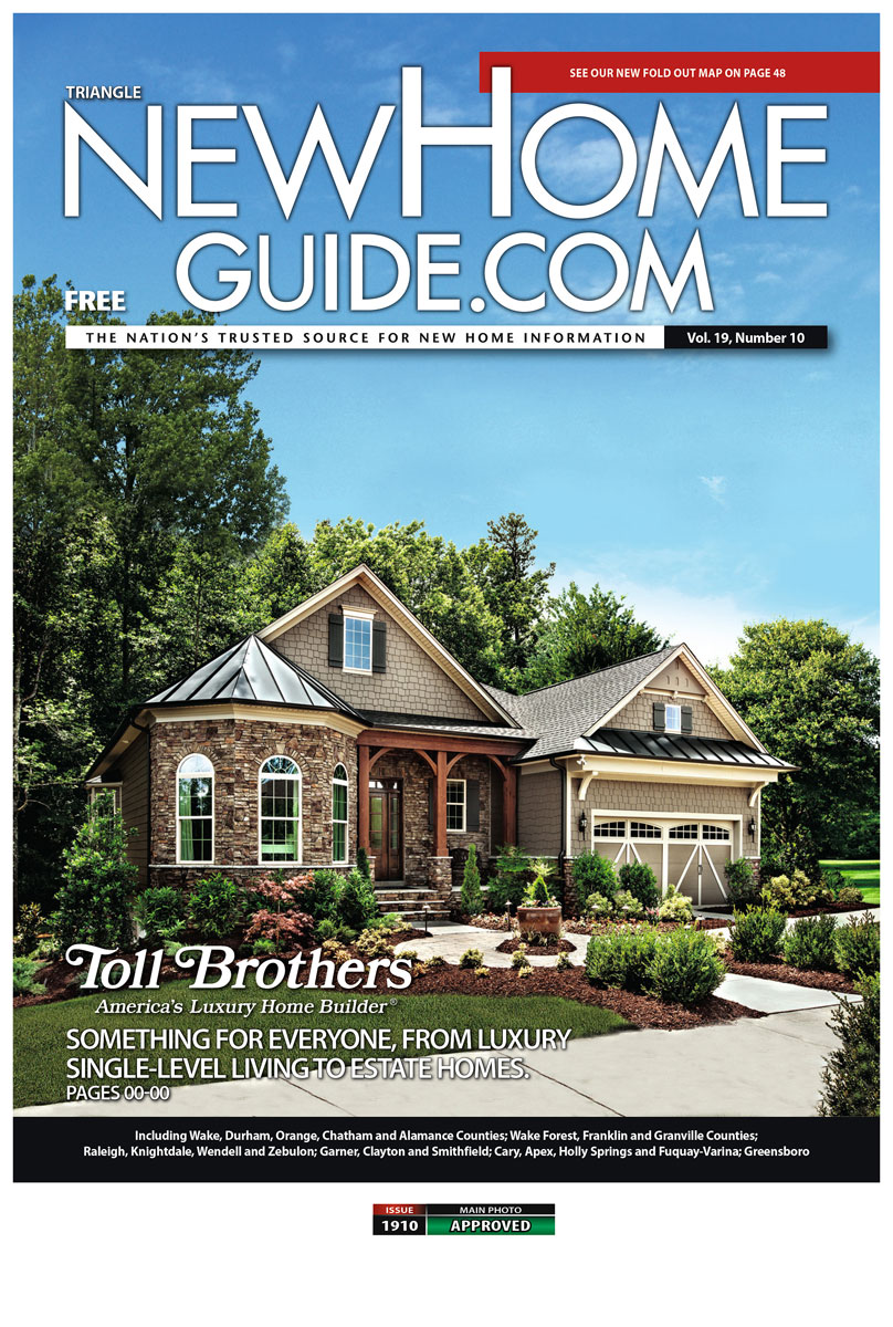 Featured on Cover of NewHomeGuide.com
